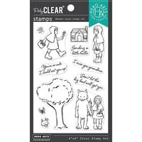 Hero Arts - Clear Photopolymer Stamps - Little Red Riding Hood