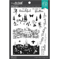 Hero Arts - Clear Photopolymer Stamps - Meadow HeroScape