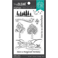 Hero Arts - Clear Photopolymer Stamps - Magical Forest