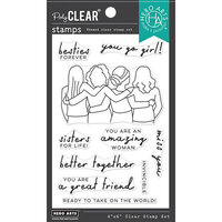 Hero Arts - Clear Photopolymer Stamps - Better Together