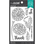 Hero Arts - Clear Photopolymer Stamps - Marigolds