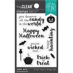 Hero Arts - Clear Photopolymer Stamps - Hero Greetings Halloween