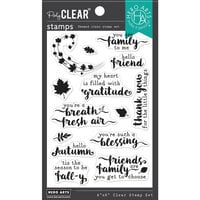 Hero Arts - Clear Photopolymer Stamps - Hello Autumn