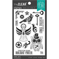 Hero Arts - Clear Photopolymer Stamps - Steampunk Holiday