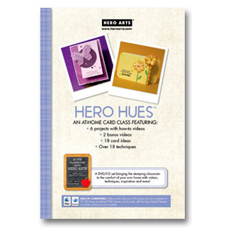 Hero Arts - Hero Hues - Card Class Techniques - CD and DVD Set
