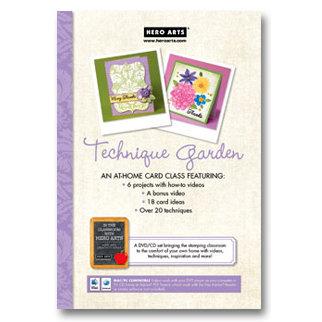Hero Arts - Card Class Technique Garden - CD and DVD Set
