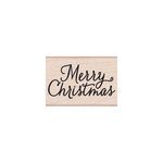 Hero Arts - Woodblock - Christmas - Wood Mounted Stamps - Merry Christmas Script