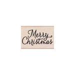 Hero Arts - Woodblock - Christmas - Wood Mounted Stamps - Merry Christmas Script