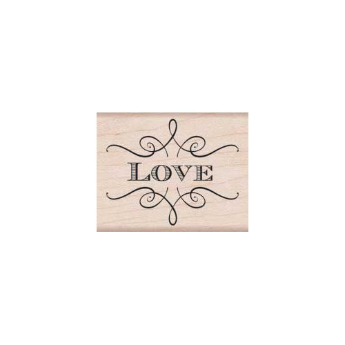 Hero Arts - Woodblock - Wood Mounted Stamps - Love