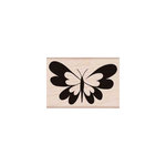 Hero Arts - Woodblock - Wood Mounted Stamps - Heart Butterfly