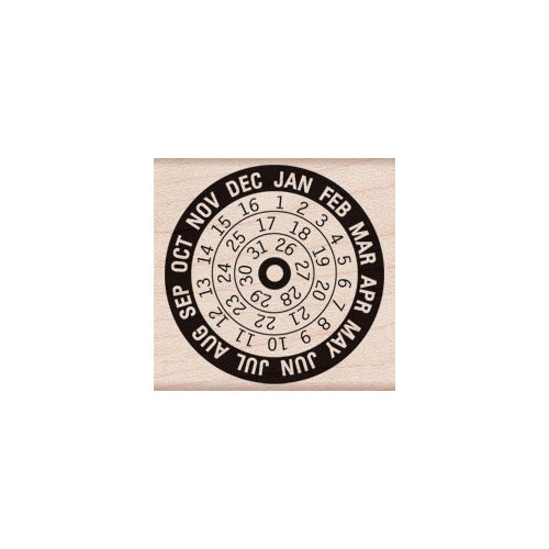 Hero Arts - Woodblock - Wood Mounted Stamps - Calendar