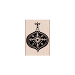 Hero Arts - Woodblock - Christmas - Wood Mounted Stamps - Chalkboard Ornament