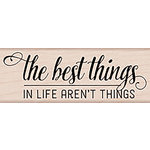 Hero Arts - Lia Griffith Collection - Woodblock - Wood Mounted Stamps - The Best Things