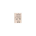 Hero Arts - Christmas - Woodblock - Wood Mounted Stamps - Winter Fox
