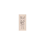 Hero Arts - Christmas - Woodblock - Wood Mounted Stamps - Winter Bunny