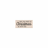 Hero Arts- Season of Wonder Collection - Woodblock - Wood Mounted Stamps - The Spirit of Christmas