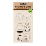 Hero Arts - Die and Clear Acrylic Stamp Set - Birthday