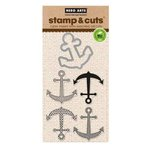 Hero Arts - Die and Clear Acrylic Stamp Set - Anchor