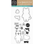 Hero Arts - Lia Griffith Collection - Die and Clear Acrylic Stamp Set - Avery Cut-Outs