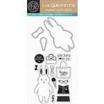 Hero Arts - Lia Griffith Collection - Die and Clear Acrylic Stamp Set - Millie Cut-Outs