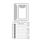 Hero Arts - Kelly Purkey Collection - Die and Clear Acrylic Stamp Set - To Do List