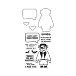 Hero Arts - Kelly Purkey Collection - Halloween - Die and Clear Acrylic Stamp Set - Kelly's Monster