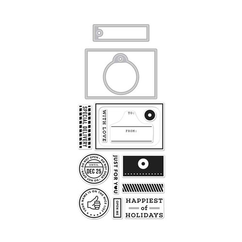Hero Arts - Kelly Purkey Collection - Die and Clear Photopolymer Stamp Set - Kelly's Open Me