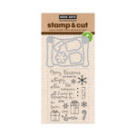 Hero Arts - Die and Clear Acrylic Stamp Set - Christmas List