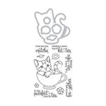 Hero Arts - Die and Clear Photopolymer Stamp Set - Kit-Tea