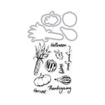 Hero Arts - Die and Clear Photopolymer Stamp Set - Autumn Bounty