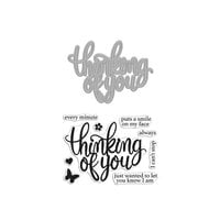 Hero Arts - Die and Clear Photopolymer Stamp Set - Thinking of You