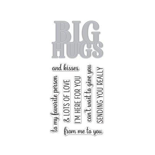 Hero Arts - Die and Clear Photopolymer Stamp Set - Big Hugs