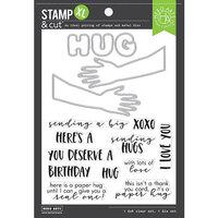 Hero Arts - Die and Clear Photopolymer Stamp Set - Paper Hug