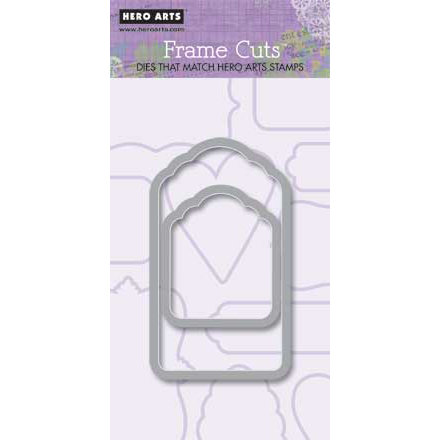 Hero Arts - Frame Cuts - Die Cutting Template - Long and Cute Tags