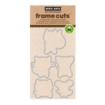 Hero Arts - Frame Cuts - Die Cutting Template - Playful Animals