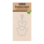 Hero Arts - Frame Cuts - Die Cutting Template - Color Layering Butterflies