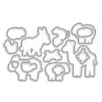 Hero Arts - Frame Cuts - Dies - Animal Blessings