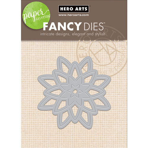 Hero Arts - Frame Cuts - Die Cutting Template - Paper Layering Large Lotus