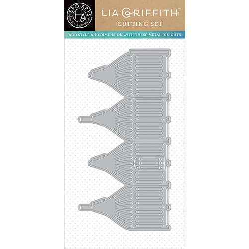 Hero Arts - Lia Griffith Collection - Frame Cuts - Die Cutting Template - 3 Dimensional Bird Cage