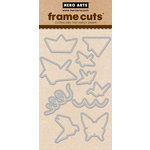 Hero Arts - Trend Collection - Frame Cuts - Die Cutting Template - Origami Animals