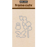 Hero Arts - Frame Cuts - Die Cutting Template - Orchid In A Pot