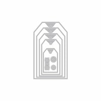 Hero Arts - Infinity Dies - Nesting Tag