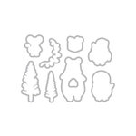 Hero Arts - Christmas - Frame Cuts - Dies - Holiday Animals