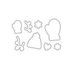 Hero Arts - Christmas - Frame Cuts - Dies - Holiday Mittens