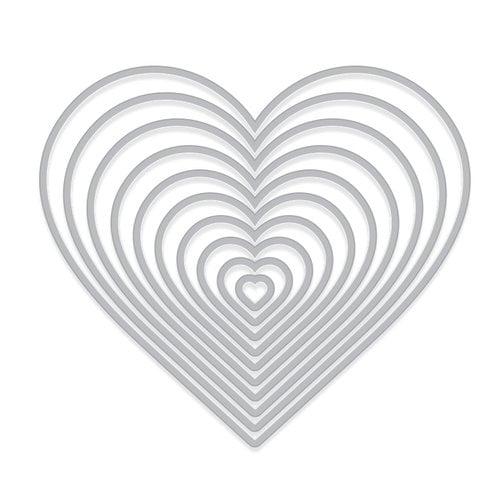Hero Arts Nesting Hearts infinity dies