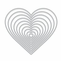 Hero Arts - Infinity Dies - Nesting Hearts