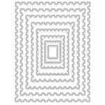 Hero Arts - Infinity Dies - Nesting Postage Stamps