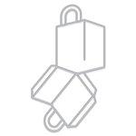 Hero Arts - Frame Cuts - Dies - 3D Shopping Bag