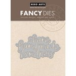 Hero Arts - Fancy Dies - Handmade Kindness