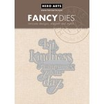 Hero Arts - Fancy Dies - A Bit of Kindness